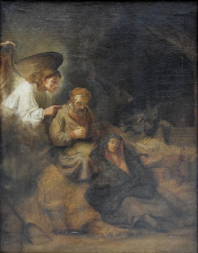 Joseph's_dream_Rembrandt